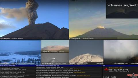 Volcanoes Live